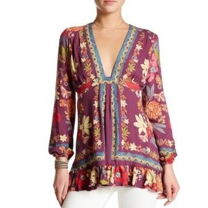 Violet Hill Printed Tunic Top